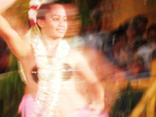 Local dance - French Polynesia