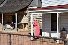 Grandmother waiting. (The Old Texan) Tags: 1800s grandmother historic d7100 nikon texas