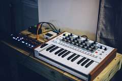 Synthesizers (Lance Camp) Tags: space fighter roland ju06 akai timbre wolf boss digital delay dd3 nikon nikond610 synthesizers synthwave music vsco vscocam prime 50mm 14