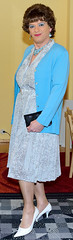 Birgit023242 (Birgit Bach) Tags: dress kleid buttonthrough durchgeknöpft pleatedskirt faltenrock