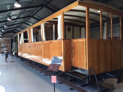 rack railway coach