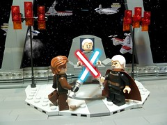 Star Wars: Episode III – Revenge of the Sith: Anakin Skywalker Vs Count Dooku (Forgotten Days) Tags: lego star wars revenge of the sith count dooku separatist alliance anakin skywalker galactic republic invisible hand chancellor palpatine venator class destroyer