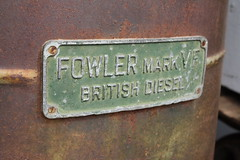 Fowler Mark VF (ambodavenz) Tags: fowler mark vf track tractor geraldine vintage car machinery museum crank up south canterbury new zealand