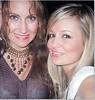 Buffy Waltrip and Emily Maynard (womenofnascar) Tags: nascar michael waltrip ricky hendrick dale earnhardt jr