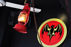 Red lantern (Roving I) Tags: lanterns chains decor industrial ceilingfans themes venues bats bacardi posters lighting interiordesign thefactory danang vietnam