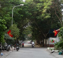 Neighborhood street (program monkey) Tags: motorbikes neighborhood vietnam hanoi hadong
