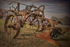 Vintage plough (cornishdave) Tags: farmmachinery vintageplough