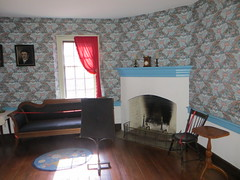 Salon, John Vogler house (Joel Abroad) Tags: oldsalem northcarolina johnvogler silversmith watchmaker house workshop salon