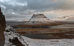 Kirkjufell (geh2012) Tags: kirkjufell snfellsnes sland iceland fjall mountain sk cloud gunnareirkur sjr sea snjr snow geh gunnareirkurhauksson