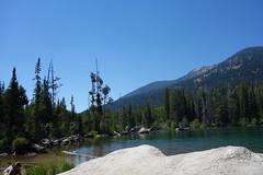 A lake (Mike Burns) Tags: grandtetons lake mountain trees