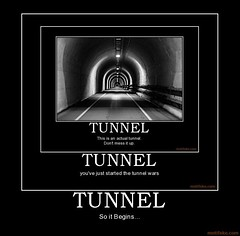Tunnel (Chikkenburger) Tags: memebase memes verydemotivational workharder notsmarter demotivational posters cheezburger chikkenburger