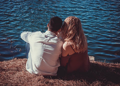 In Love (ronsimon1) Tags: people outdoors lake portrait sunshine sunny lovers inlove