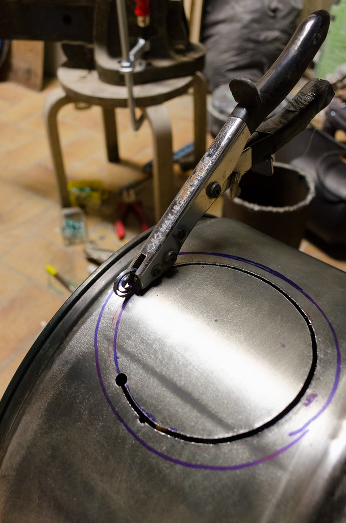 How to clean stove grease off tea kettle
