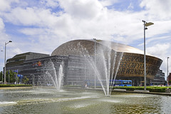 Wales Millennium Centre, Cardiff 05/08/2016 (Gary S. Crutchley) Tags: wales millennium centre cardiff bay nikon 1635mm f40g af s ed nikkor uk great britain d800