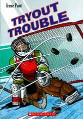 Tryout Trouble (Vernon Barford School Library) Tags: 9781443133456 irenepunt irene punt jason laudadio jasonlaudadio hockey icehockey sports athletes hockeyplayers competition competitive team teams tryout tryouts athletics vernon barford library libraries new recent book books read reading reads junior high middle school vernonbarford nonfiction paperback paperbacks softcover softcovers covers cover bookcover bookcovers readinglevel grade3 rl3 quick quickread quickreads qr