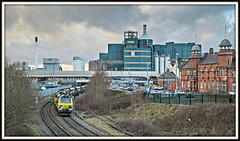 Coal days (david.hayes77) Tags: 4f03 70006 class70 2015 warrington cheshire arpleyjunction freight coal bankquay slutcherslane unilever freightliner