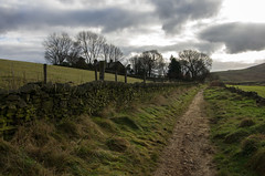 The Old Straight Track (Mike Serigrapher) Tags: matey moor farm peakdistrict derbyshire hayfield