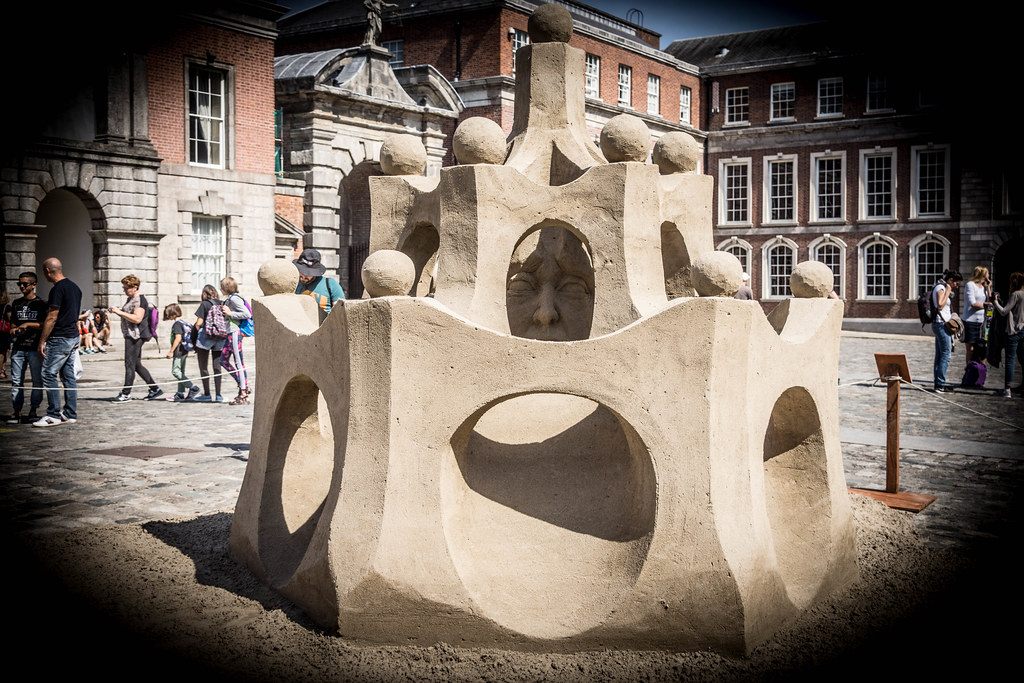 SAND SCULPTURES AT DUBLIN CASTLE [EMOTIONAL STATES] REF-107061