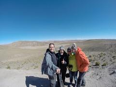 Photo de 14h - Avec Myriam et Adrien dans les environs de Tupiza (Bolivie) - 10.08.2014