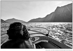 Lady On The Boat (W.Utsch) Tags: schweiz ticino ch castagnola