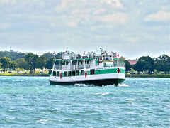 The Diamond Queen (dwgibb) Tags: bridge lighthouse canada boat michigan detroit casino greatlakes windsor ceasars detroitriver riverwalk freighter rencen ambassadorbridge gmbuilding millikenstatepark