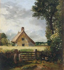 Cottage in a Cornfield - Constable - Nat'l Museum of Wales (samwisetoolbar) Tags: johnconstable farmscenes americanlandscapes englishscenes suffolklandscape victorianpaintings late18thcenturyenglishlandscapes cottageinacornfield