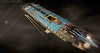 MAERSK HIGHLINER MkI REAR (Pierre E Fieschi) Tags: art ship lego pierre space spaceship concept spacecraft microspace 2015 maersk highliner fieschi microspacetopia pierree shiptember