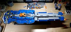 Hiigaran Battlecruiser WIP 8 (Rphilo004) Tags: ship lego space spaceship homeworld fleet spacecraft battlecruiser hiigaran shiptember