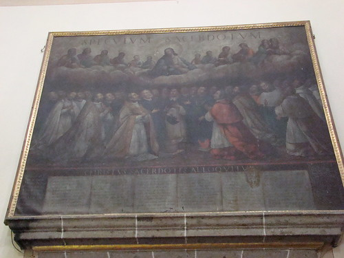 Espejo Sacerdotal, Basílica de los Remedios, Naucalpan, Edo. de México.