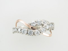 White Gold and Rose Gold