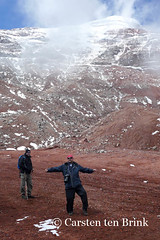 The joy of 5,000m I (10b travelling) Tags: mountain selfportrait latinamerica southamerica volcano ecuador montana peak andes americas selfie chimborazo 2015 10b tenbrink carstentenbrink iptcbasic 10btravelling