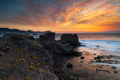 Dramatic Coastline (Nomadic Vision Photography) Tags: sunset nationalpark spain europe dramatic andalucia coastline wilderness jonreid tinareid cabodegatanjarnaturalpark nomadicvisioncom