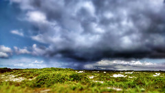 A Storm is Brewing (Rodrigo Neves - Catching up with your great work s) Tags: wild nature riodejaneiro clouds landscape skies dunes cabofrio restinga foguete