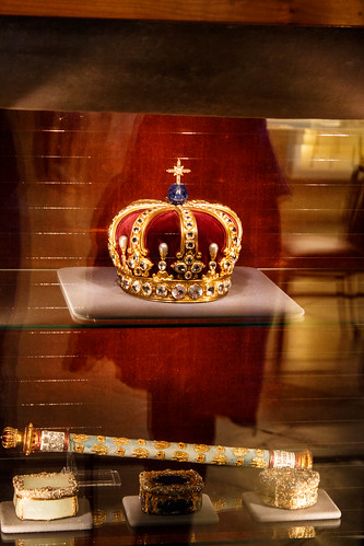 Couronne de Guillaume II au château de Hohenzollern