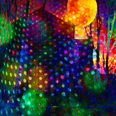 4000 Holes in Blackburn Lancashire (virtually_supine) Tags: building silhouette collage photomanipulation bright circles creative vividcolour textures montage layers abstraction dots songlyrics digitalartwork photoshopelements9 sotnoctoberchallengecirclesdots pse9effectspaintdaubs