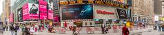 Times Square Panorama (zzrbell) Tags: newyork timessquare