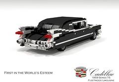 Cadillac 75-Series Fleetwood Limousine (1959) (lego911) Tags: auto birthday usa classic car america model lego render limo cadillac 49 1950s series 6700 fin 75 luxury challenge limousine v8 8th caddy cad 1959 lugnuts 96 povray onthejob moc ldd lwb miniland lego911 happycrazyeighthbirthdaylugnuts