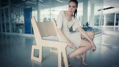 Glasäpplen (clogz) Tags: wood glass architecture design model eyes dress legs interior heels teresa brunette finnish nrt