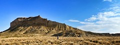 (*Indiana*) Tags: colors spain scenery view desert erosion argile navarra bardenas reales landscpes castildetierra