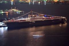 (NAVY_ICHIHO) Tags: nightphotography japan ship nightshot illumination nightview yokohama  fleetreview nightimage jmsdf      ddh183 jsizumo