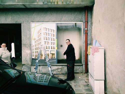 Das Osram-Haus in #Nürnberg wird nun abgerissen und durch ein bauhausiges Ikea-Regal ersetzt.