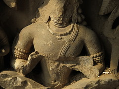 detail of hindutemple (gerben more) Tags: india art statue temple torso hinduism rajasthan tors hindugod