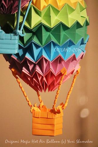 Origami Magic Hot Air Balloon By Yuri Shumakov A Photo On Flickriver