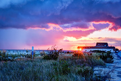 Sunset at Cape May Arcade (Nikographer [Jon]) Tags: sunset fall newjersey october oct arcade capemay 2015 nikographer 20151018d810021929