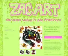 Zac Art Giant Rubber Ugly Monster (Astronit) Tags: art giant big rubber ugly zac creature jiggler
