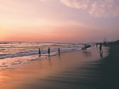 Canggu (mlee525) Tags: sunset bali indonesia surf surfers iphone canggu schedcation