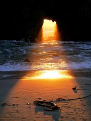 """Light Show"" (Cepreu K) Tags: ocean california statepark light beach landscape pacific bigsur explore lightshow pfeiffer pfeifferbeach bigsurstatepark keyholearch starsaward"