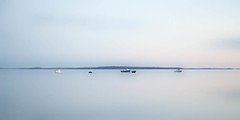 space (andrew c ko) Tags: ocean blue sunset boats outdoor maine newengland tranquility calm minimal atlantic serene minimalism lincolnville islesboro westpenobscotbay