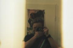 Leica Test Selfie (Lup0s) Tags: test berlin film analog 35mm leitz oskarbarnack leicai