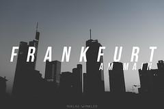 Frankfurt BLACK Skyline (Niklas W.) Tags: black skyline skyscraper canon germany deutschland eos europa europe downtown eu bank db german deutschebank deutschebahn commerzbank sparkasse 1k wolkenkratzer helaba